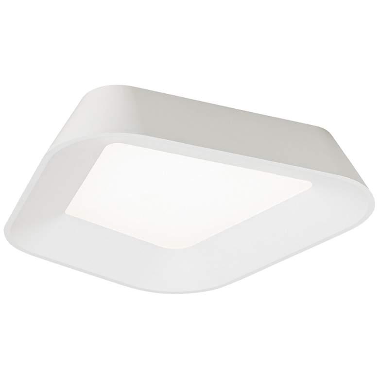 """Tech Lighting Rhonan 14"""" Wide White LED Ceiling Light"""