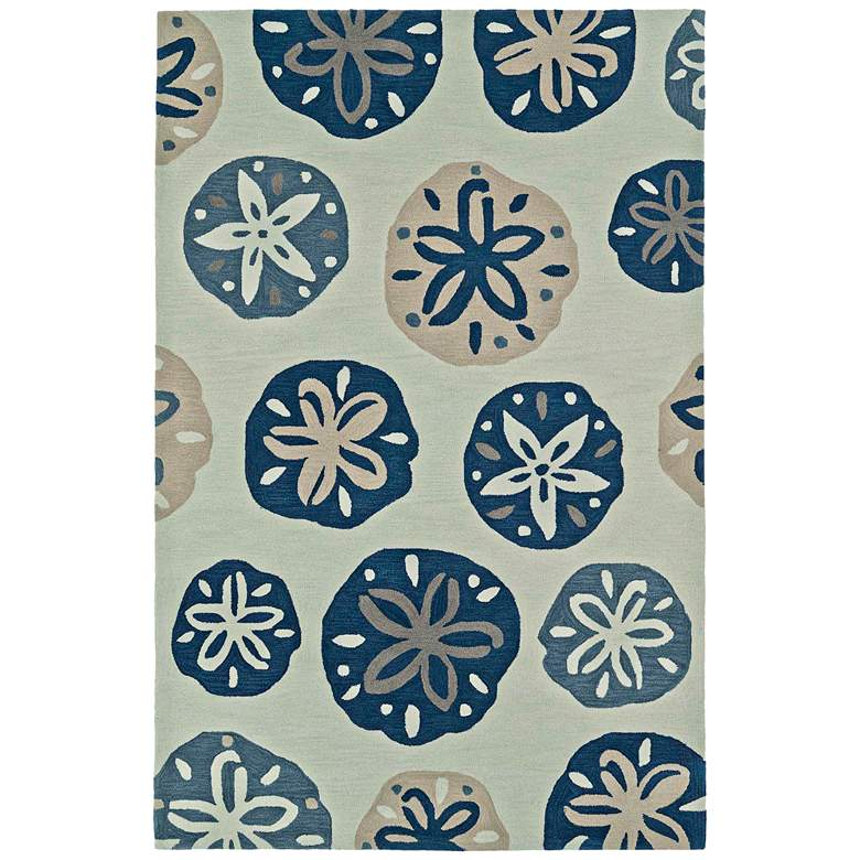 Dalyn Seaside Ivory Sand Rectangle Area Rug