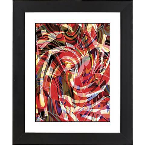 """Untitled I Black Frame Giclee 23 1/4"""" High Wall Art"""