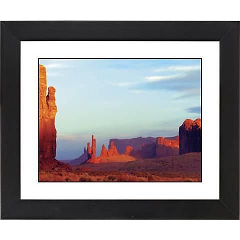 "Red Mesa Black Frame Giclee 23 1/4"" Wide Wall Art"