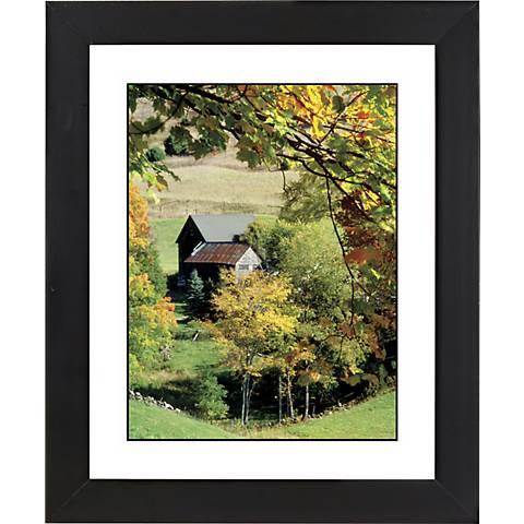 "Autumn Harvest Black Frame Giclee 23 1/4"" High Wall Art"