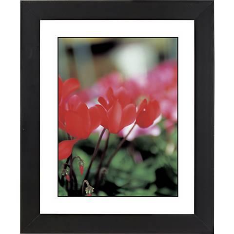 """Red Poppy Black Frame Giclee 23 1/4"""" High Wall Art"""