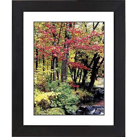 "Autumn View Black Frame Giclee 23 1/4"" High Wall Art"