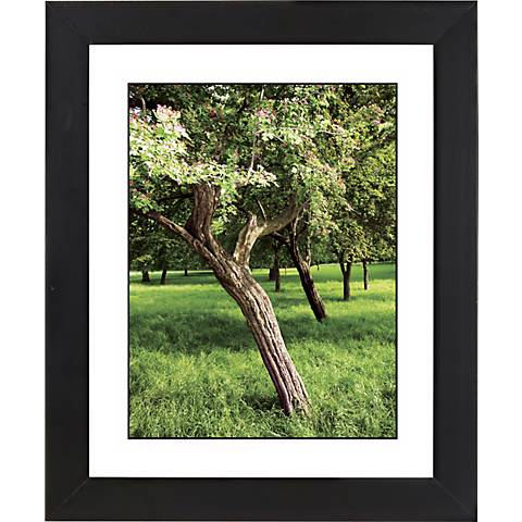 """Orchard Meadow Black Frame Giclee 23 1/4"""" High Wall Art"""