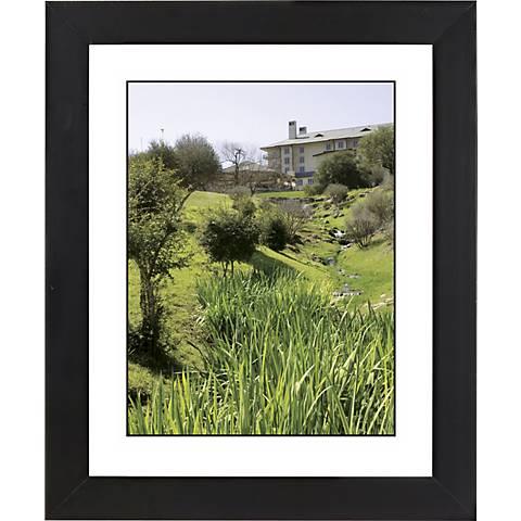 "Green View Black Frame Giclee 23 1/4"" High Wall Art"