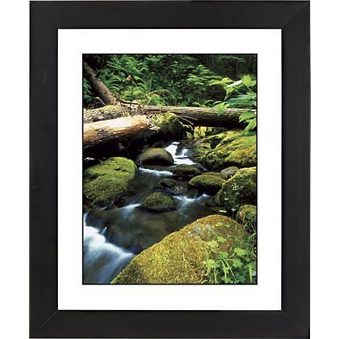 "Mountain Spring Black Frame Giclee 23 1/4"" High Wall Art"