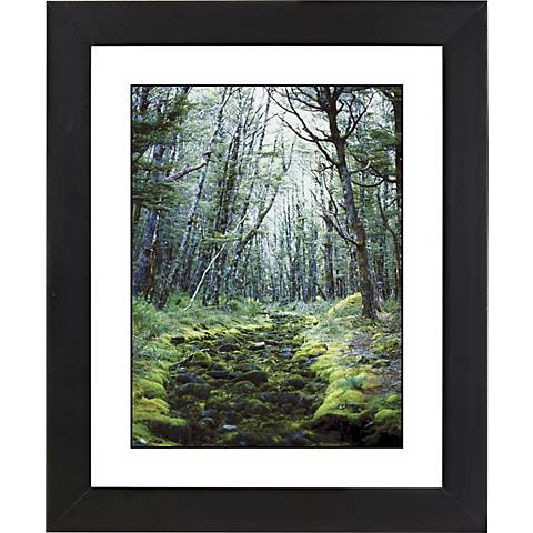 "Forest Clearing Black Frame Giclee 23 1/4"" High Wall Art"
