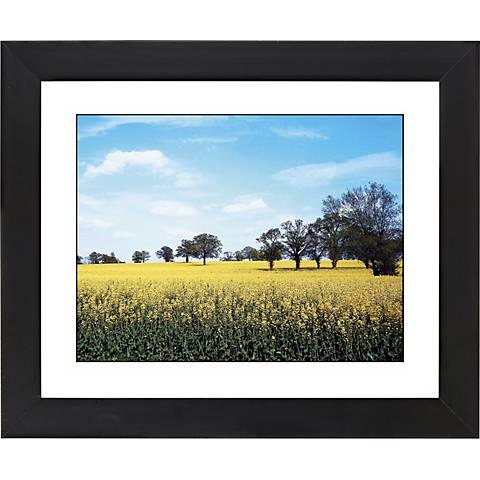"Summer Field Black Frame Giclee 23 1/4"" Wide Wall Art"
