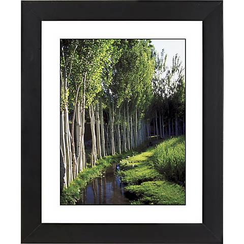 "Poplar Lane Black Frame Giclee 23 1/4"" High Wall Art"