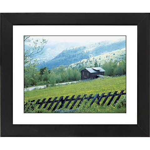 "Alpine Cabin Hideaway Black Frame 23 1/4"" Wide Wall Art"