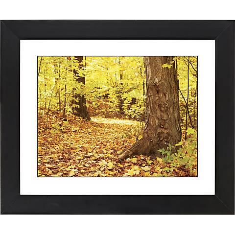 "Autumn Carpet Black Frame Giclee 23 1/4"" Wide Wall Art"