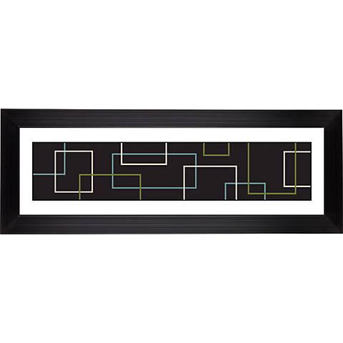 """Giclee Matrix Stepped Strip 52 1/8"""" Wide Wall Art"""
