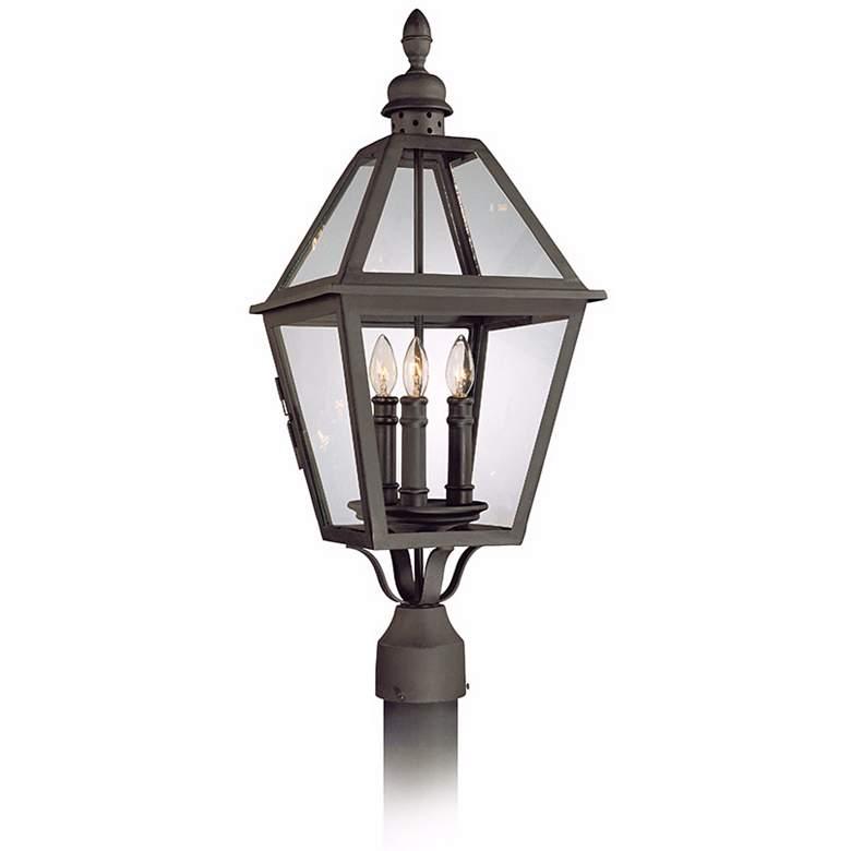 """Townsend 27"""" High Outdoor Post Mount Light"""