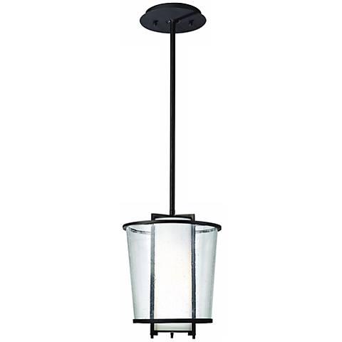 "Bennington 12"" High CFL Outdoor Hanging Porch Light"