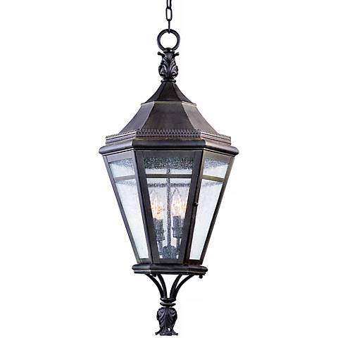 "Morgan Hill 32 1/2"" High Hanging Outdoor Light"