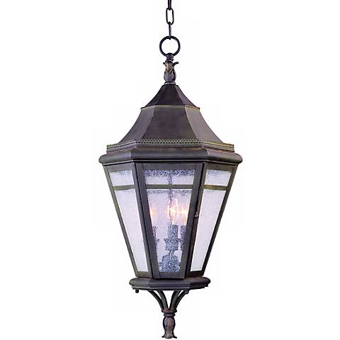 "Morgan Hill 27"" High Hanging Outdoor Light"