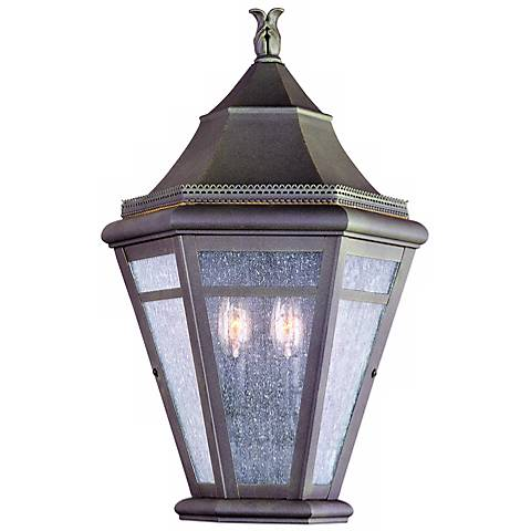 "Morgan Hill 20"" High Outdoor Pocket Wall Light"