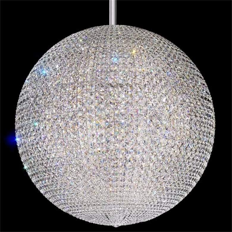 "Schonbek Da Vinci Collection 36"" Wide Crystal Pendant Light"