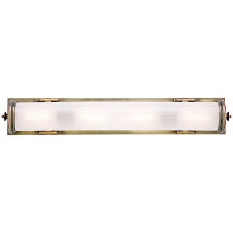 "Bristol 20 1/4"" Long Bronze Bath Light"