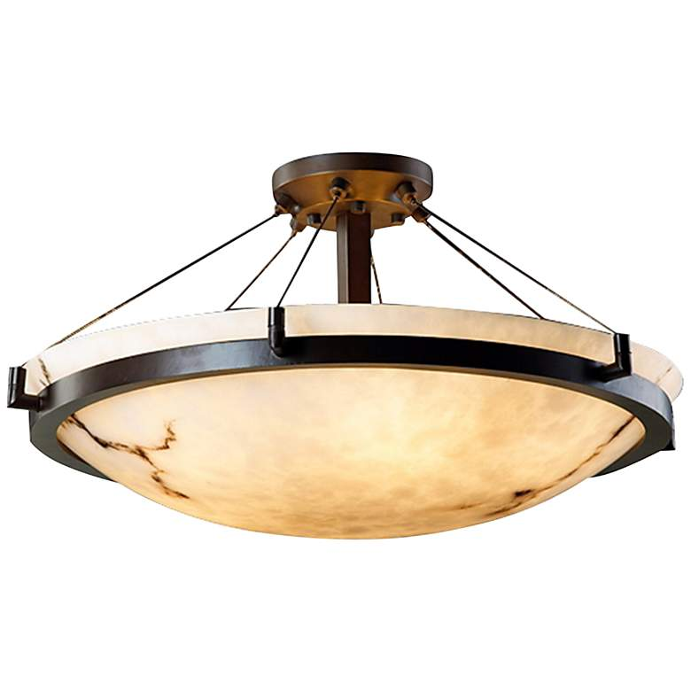 "LumenAria Collection Dakota Cable 26 1/2"" Wide Ceiling Light"