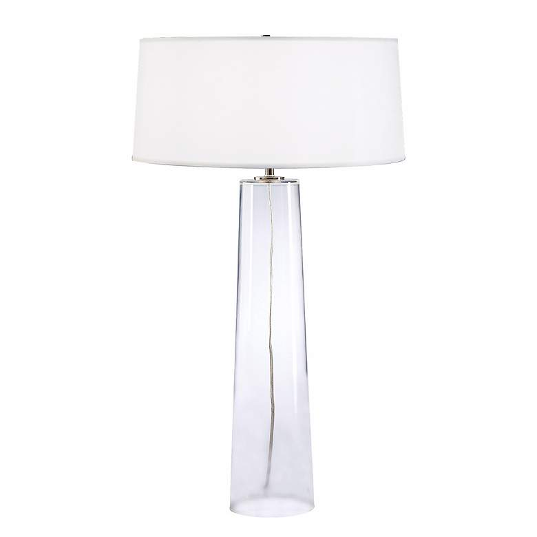 Robert Abbey Odelia Clear Glass Table Lamp