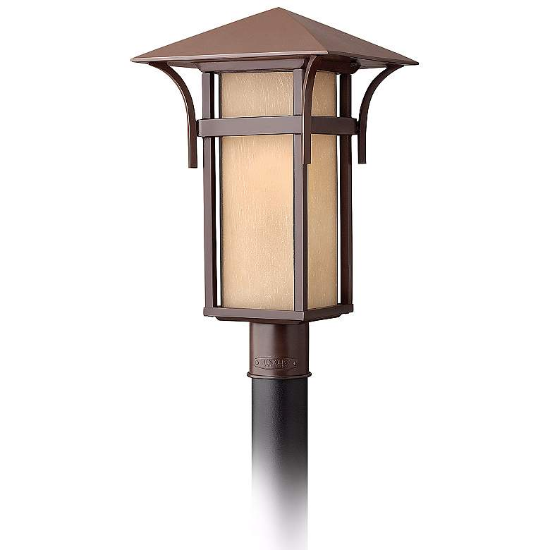 """Hinkley Harbor Collection 19 1/2"""" High Post Mount Light"""