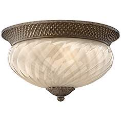 Tropical flush mount close to ceiling lights lamps plus hinkley plantation 16 mozeypictures Gallery