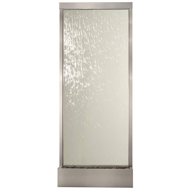 Grande Collection Clear Tempered Glass Floor Fountain