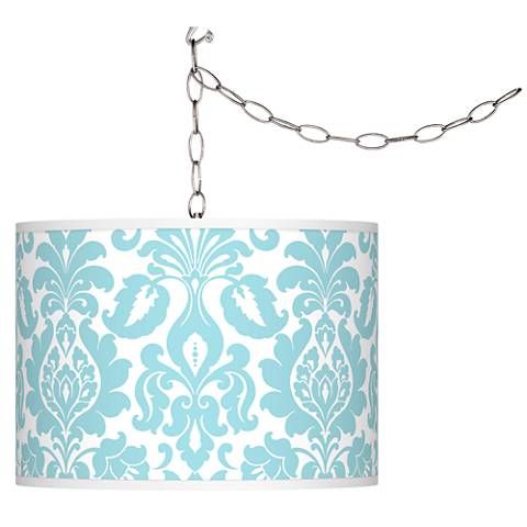 Stacy Garcia Florence Giclee Plug-In Swag Chandelier