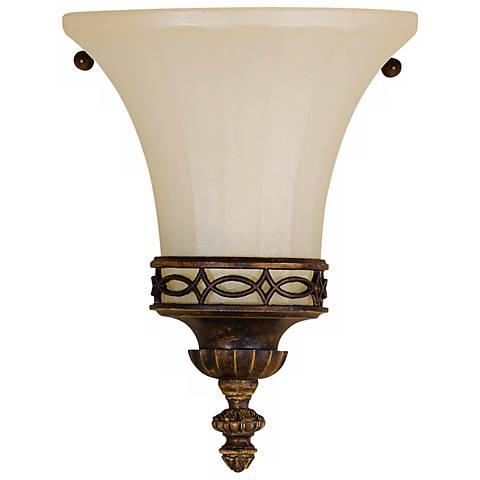 """Feiss Edwardian 8"""" High Wall Sconce"""