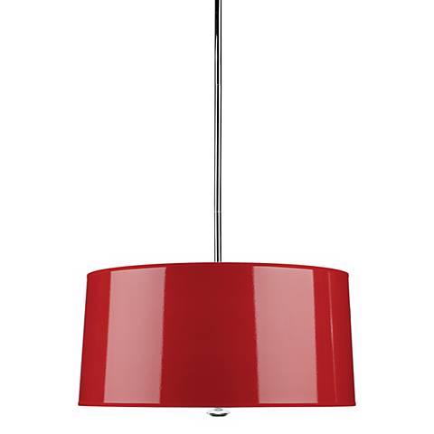 Red Penelope Pendant Light