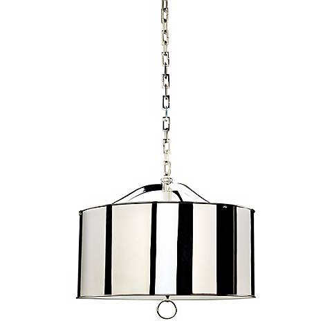 Robert Abbey Porter Nickel Pendant Light