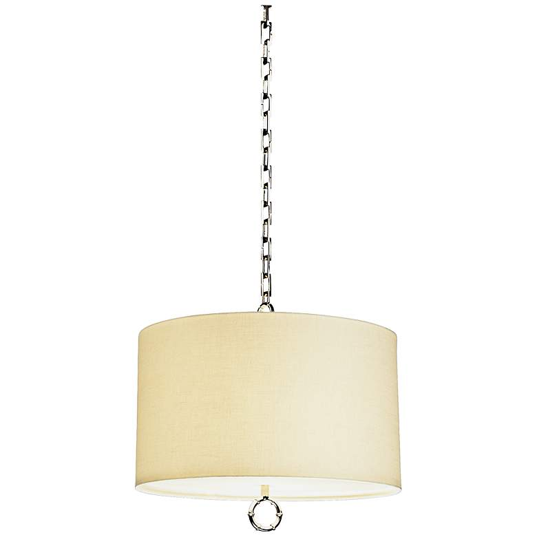 Jonathan Adler Meurice Collection Large Nickel Pendant Light
