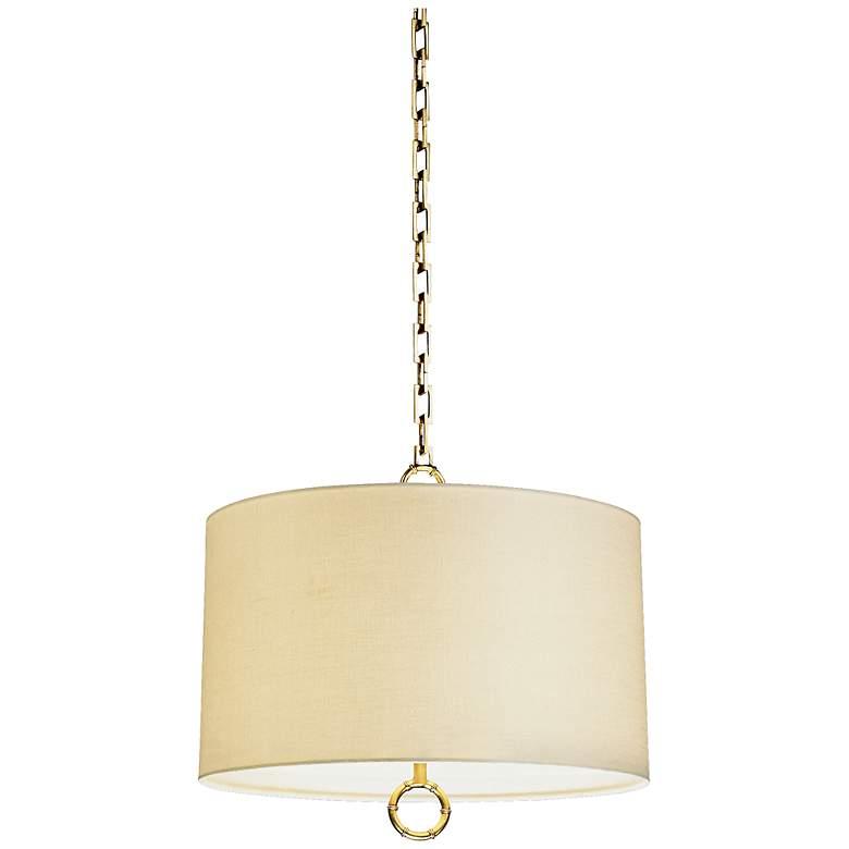 Jonathan Adler Meurice Collection Large Brass Pendant Light