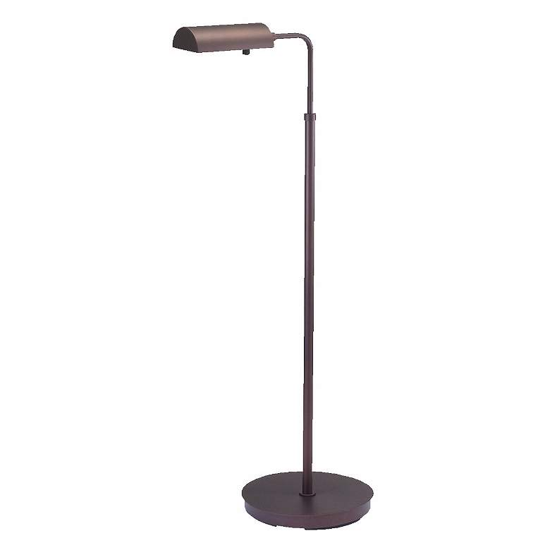 Generation Adjustable Bronze Floor Lamp by House of Troy
