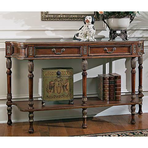 """Butler Hallmark 33"""" High Console Table"""