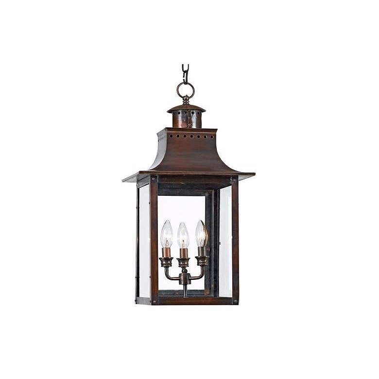 """Chalmers Collection 26"""" High Outdoor Hanging Light"""