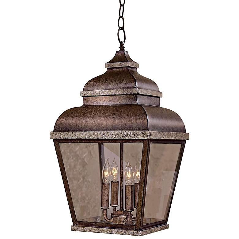 """Mossoro 22"""" High Outdoor/Indoor Hanging Light"""