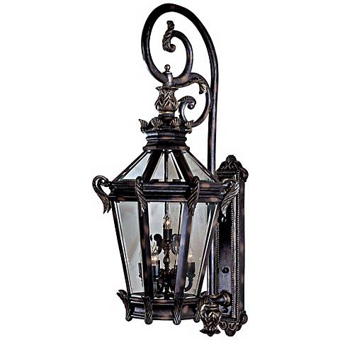 "Stratford Hall 63 1/4"" High Large Outdoor Wall Light"