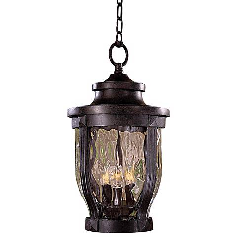 "Merrimack Collection 17 1/2"" High Outdoor Hanging Light"