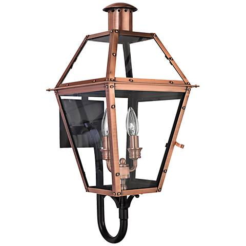 "Rue de Royal 23 1/2"" High Upbridge Arm Outdoor Wall Light"