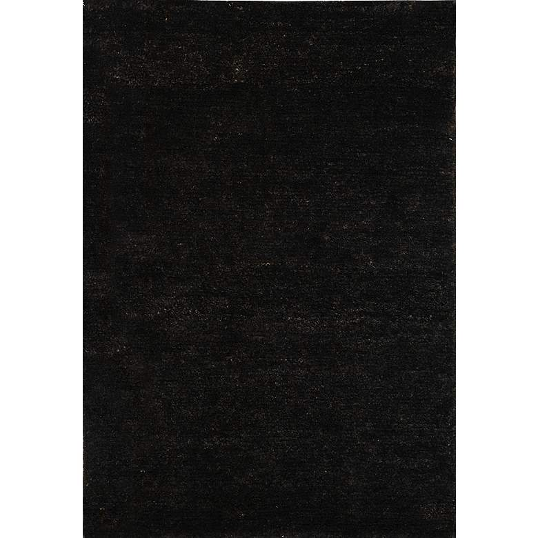Bohemian Collection Eco and Friendly Jute 5'x8' Black Area Rug