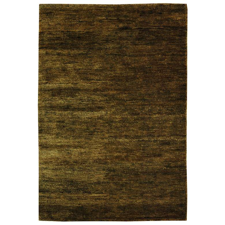 Bohemian Collection Eco and Friendly Jute 5'x8' Sage Area Rug