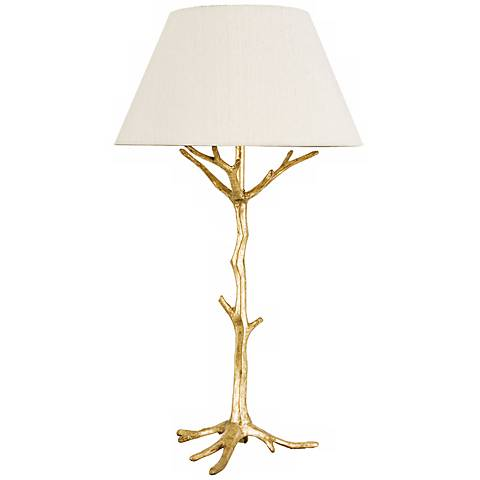 Frederick Cooper Sprig's Promise I Gold Table Lamp