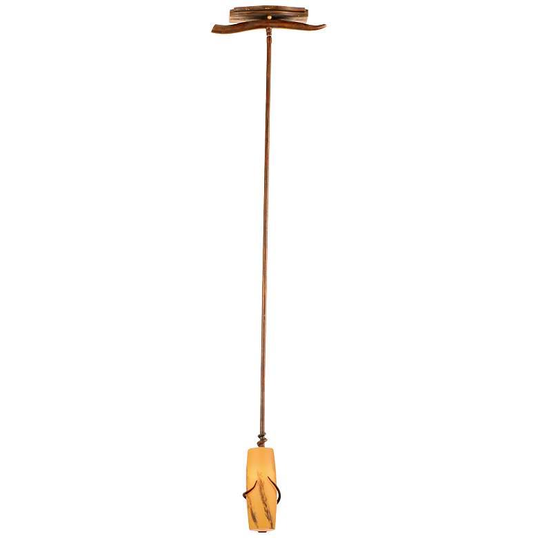 """Napa Collection 4"""" Wide Golden Wheat Mini Pendant"""