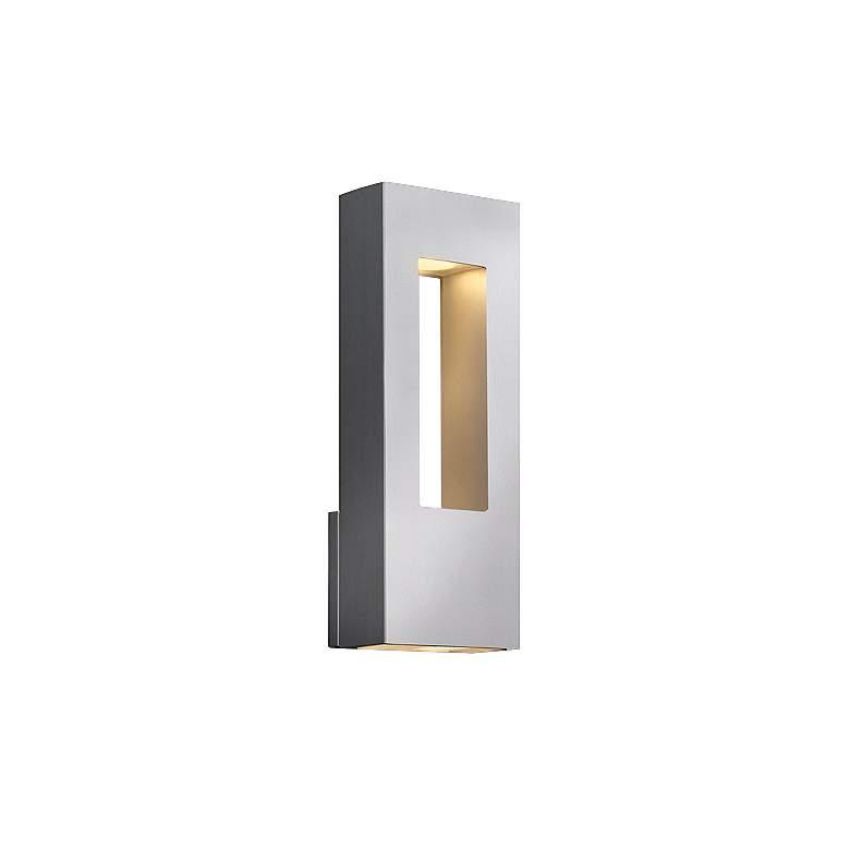 G8806 - Titanium Two-Light Rectangular Cutout Wall Sconce