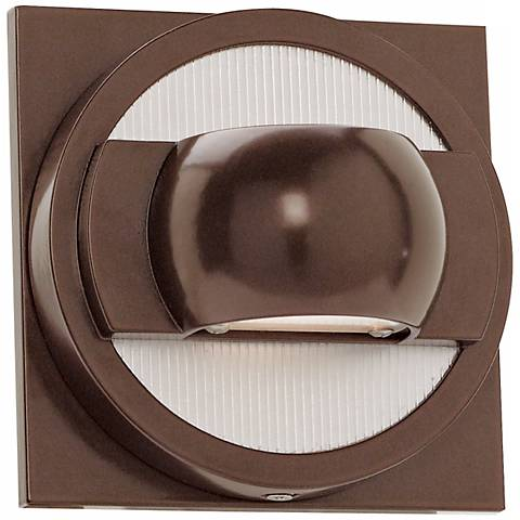 ZYZX Bronze Finish Energy Efficient LED Outdoor Wall Light