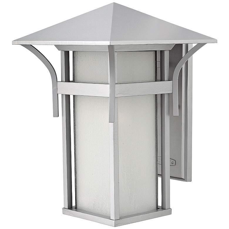"Harbor Collection Titanium 16 1/4"" High Outdoor Wall Light"
