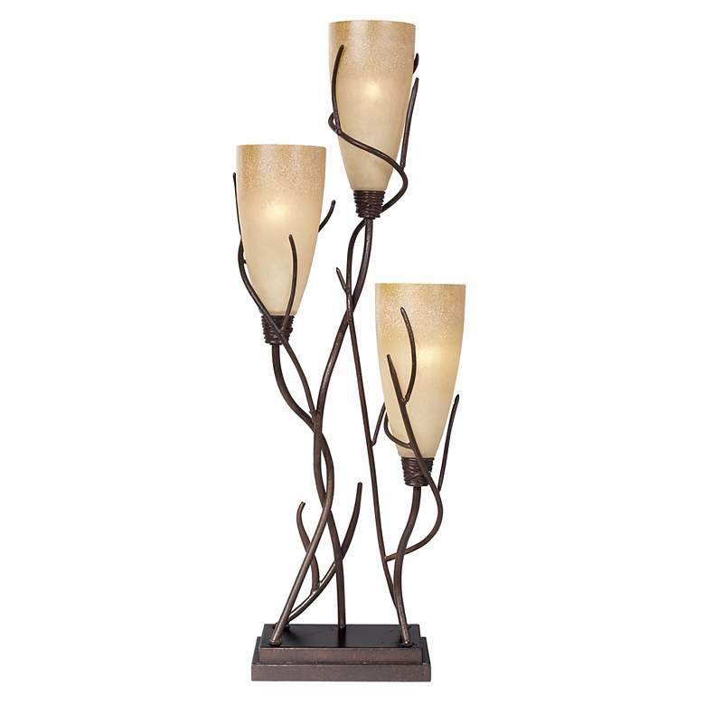 El Dorado 3-Light Uplight Table Lamp