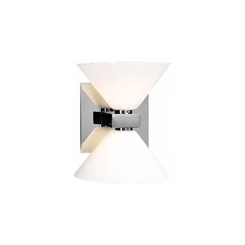 """Matria Collection 6 1/4"""" High 2-Light Wall Sconce"""